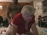 Wife flick of a mature who just loves the black meat