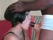 Interracial cuckold mature lady wants spouse to record her impregnated