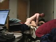 Torrid asian girlfriend penetrated by white lover on hidden camera