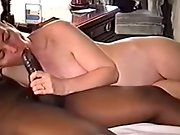 Short haired dark haired wife blacked on camera