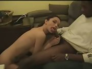 Amateur wifey gives up her taut steaming asshole to a ebony guys boner