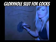 Married humungous titty platinum-blonde tart wife lusting for many cocks at the gloryhole