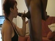 British whore cougar with two very hard sausages performing on webcam
