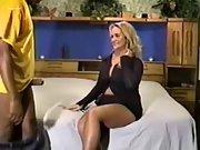Busty wife pummeled by well draped ebony