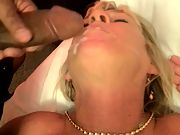 A nice facial for my slut wife