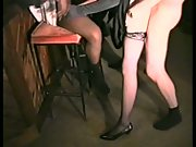 Slut gets group-fucked at snooker hall wife interracial group orgy