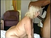 Bbw blondie plumbed by ginormous dicked black stranger while spouse takes photo