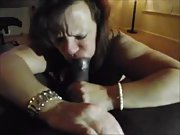 Nasty wife craving a phat black cock in her holes
